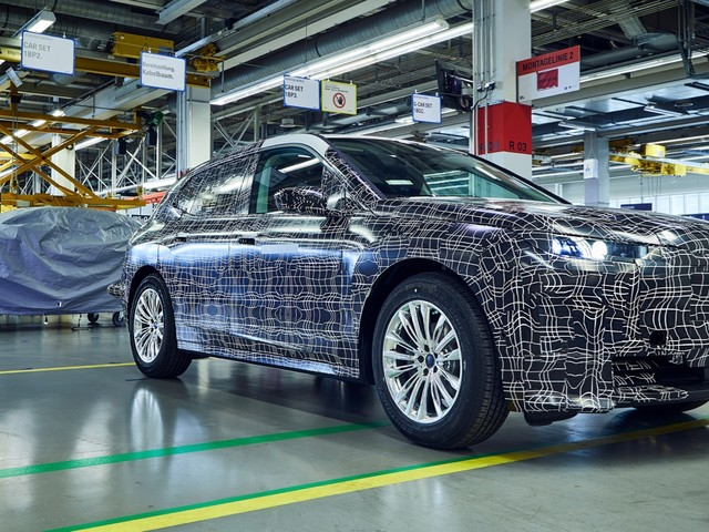 BMW iNext is almost ready for production