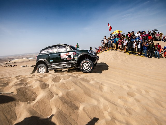 Nani Roma Finishes 2019 Dakar Rally Second, Five MINIs in Top Ten
