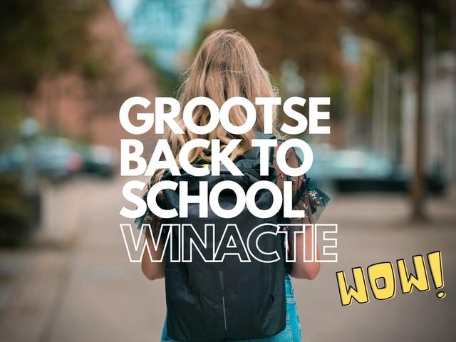 Back to school: win een rugzak vol met Apple-spullen (iPhone, iPad, AirPods en meer!)