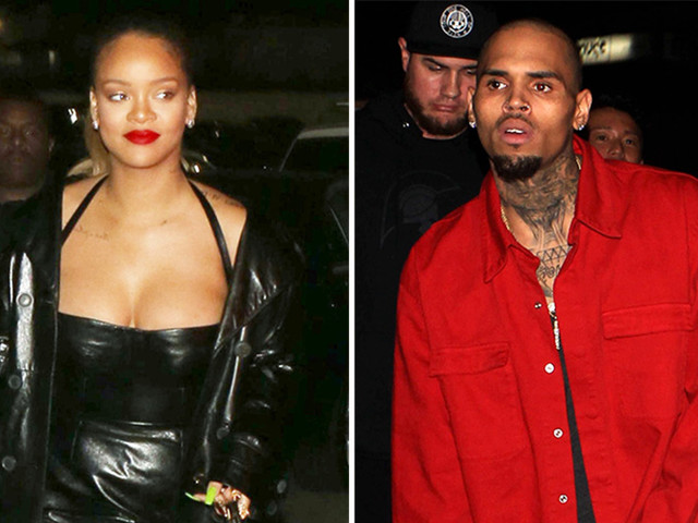 "Report: Rihanna And Chris Brown ""Talk All The Time"""