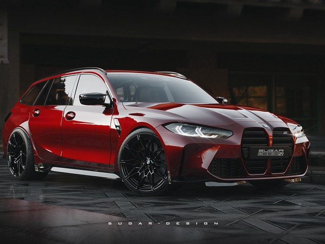 Future 2022 BMW M3 Touring gets rendered again