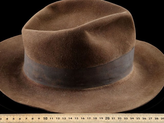 INDIANA JONES' FEDORA SOLD FOR £393,600 ($522,110) AT AUCTION