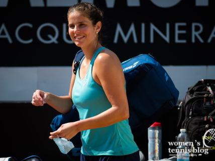 Julia Goerges ends her pro tennis career