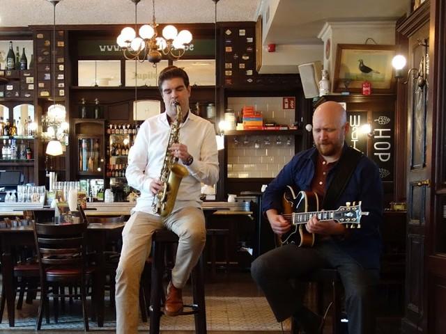 Mooie jazz in mooie café's