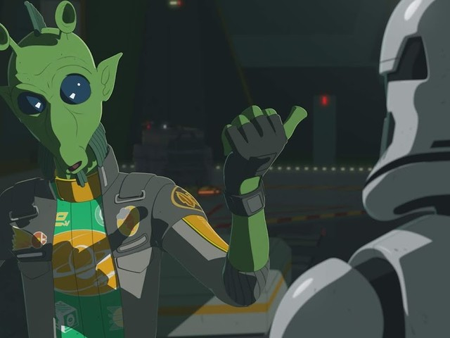Platformers Mysteriously Disappear on the All-New Episode of Star Wars Resistance 2/24 @ 10PM