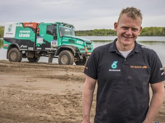 Gerard de Rooy rijdt Dakar Rally in Zuid-Amerika