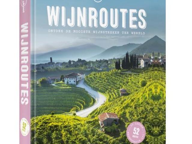 Boek over de mooiste wijnroutes