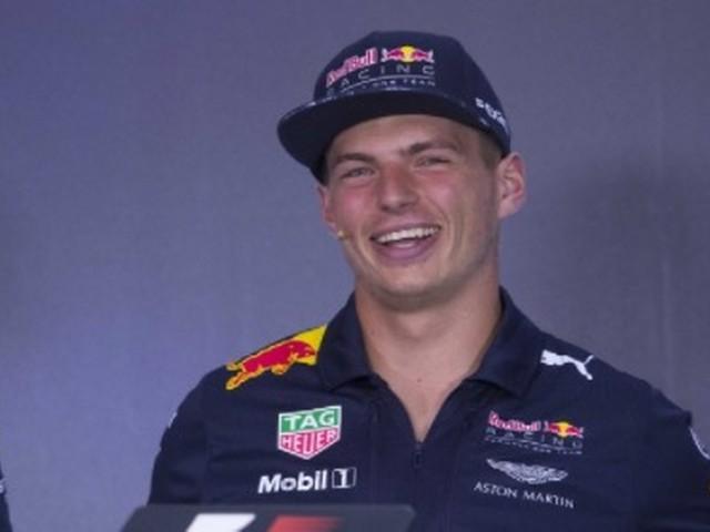Verstappen grapt over faillissement Red Bull