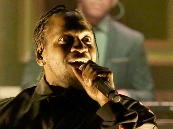 """Pusha T Performs """"Santeria"""" On The Tonight Show with 070 Shake"""