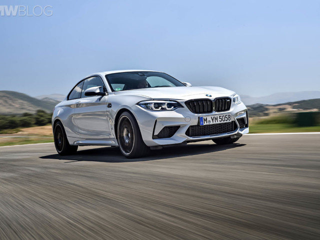 Video: Go for a Ride Around the Ring on Board a BMW M2 Competition