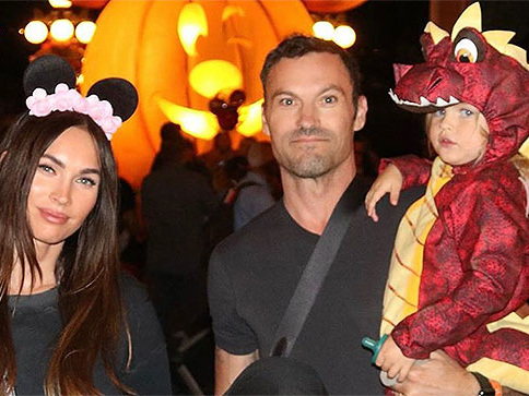 Megan Fox Shares Rare Family Photo From Disneyland Halloween-Themed Outing