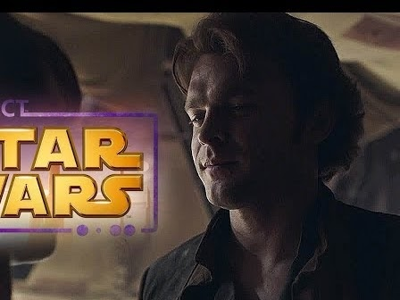 "Solo Trailer But With ""I'm Han Solo"" From The Star Wars Kinect Soundtrack"