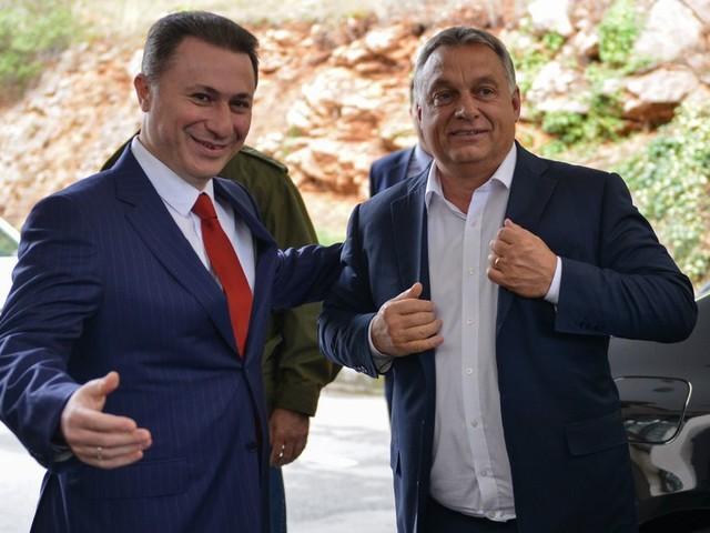 Zelden onthaalde Hongarije een vluchteling zo warm als de ex-premier van Macedonië