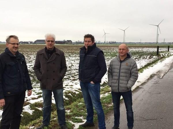Tolhuislanden bij Zwolle strijdt tegen komst windmolens