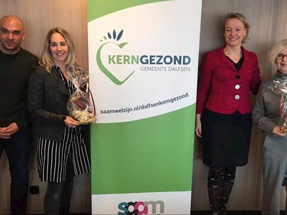 Deelnemers alcoholvrije maand 'Dry January' in Dalfsen in zonnetje gezet