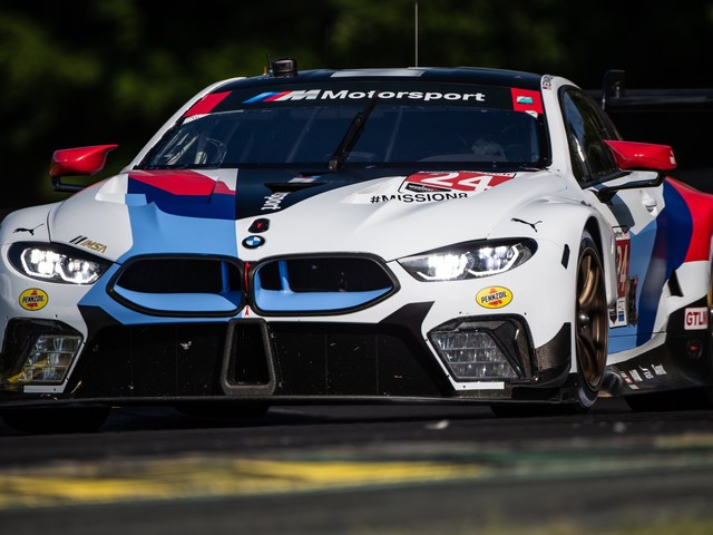 BMW M8 GTE finishes Seventh and Eighth at VIRginia International Raceway