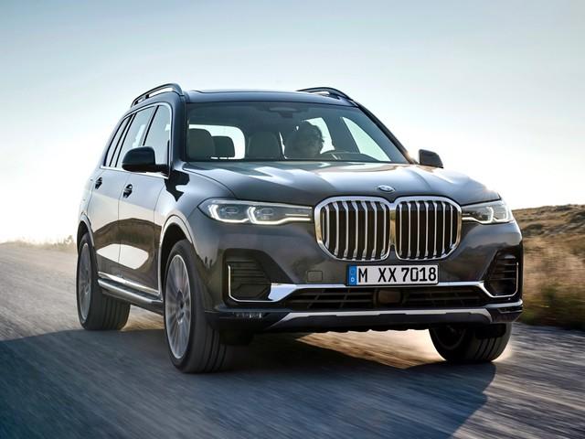2019 BMW X7 revealed, starts at $74,895