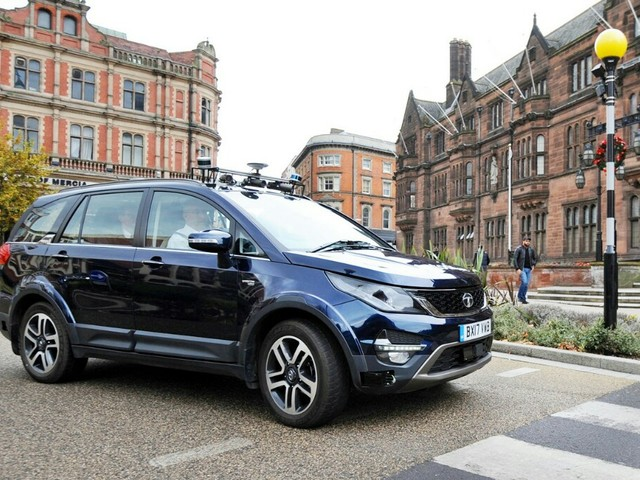 Autonomous Tata Hexa Trials Start On UK Roads