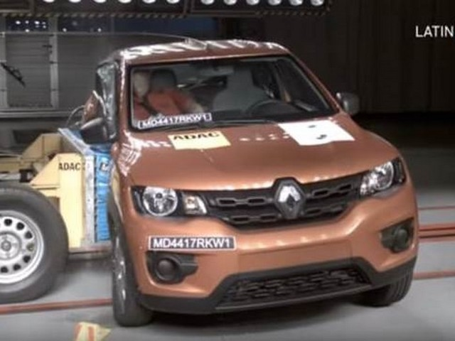 Renault Kwid Latin NCAP Score Is 3 Stars [Video]