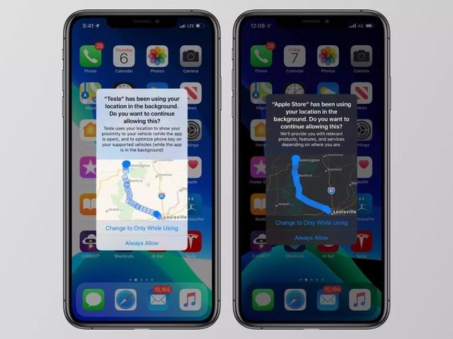 'Onder meer Buienalarm en Telegraaf-app bewaren iPhone-locatiegeschiedenis'