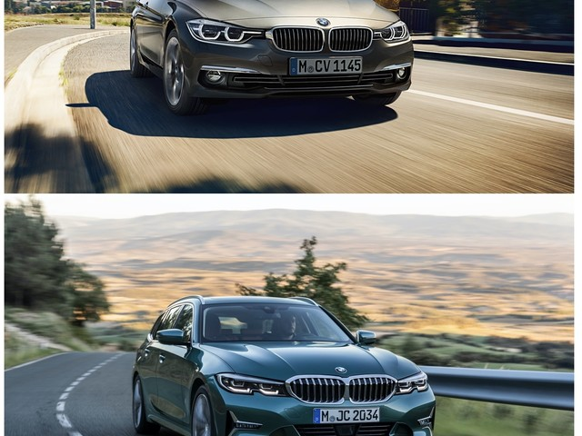 Photo Comparison: BMW G21 3 Series Touring vs. F31 3 Series Touring