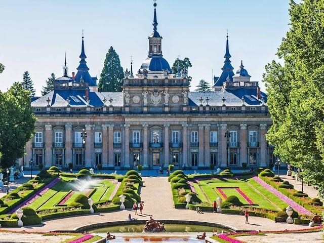 Het zomerpaleis 'La Granja de San Ildefonso'