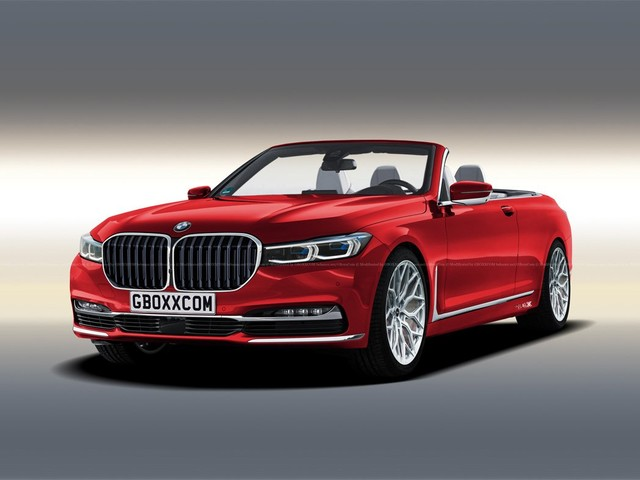 Care for a BMW 7 Series Convertible Rendering?