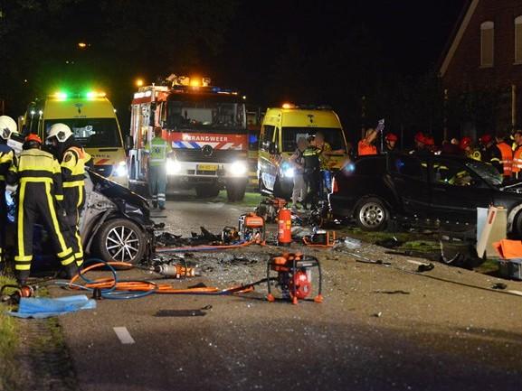 Dode en zes gewonden bij ongeluk in Achtmaal