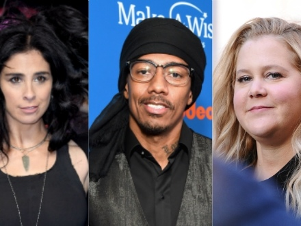 Plot Twist: Nick Cannon Digs Up Homophobic Tweets From Amy Schumer & Sarah Silverman — Are They Cancelled, Too???