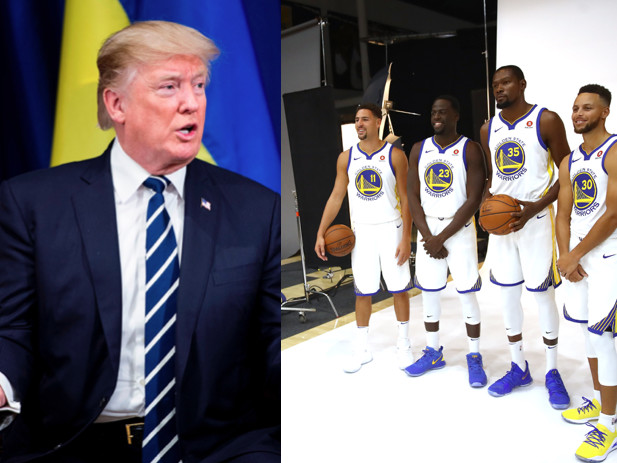 The Golden State Warriors Release Statement Ethering Trump After Being Uninvited To The White House