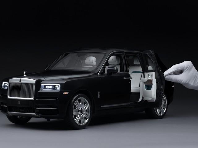 Rolls-Royce Cullinan Scale Model Is Droolworthy! [Video]