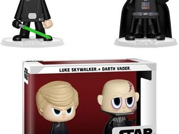 Coming Soon: Luke Skywalker and Darth Vader Vynl.!