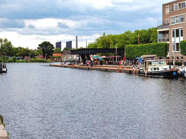 Zwemverbod voor de populaire Piushaven in Tilburg