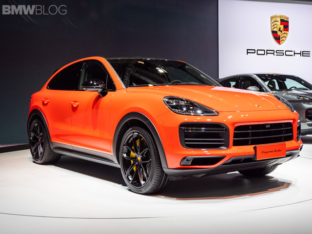 2019 Shanghai Motor Show – The New Porsche Cayenne Coupe makes its debut