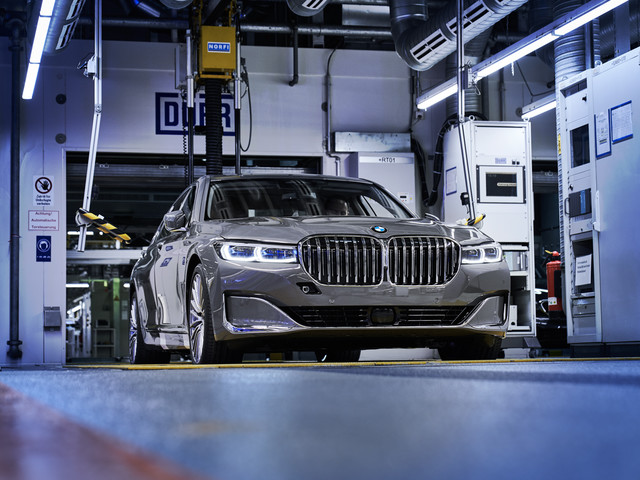 Rumor: Future BMW 7 Series EV to Have 670 HP, 120 kW Battery