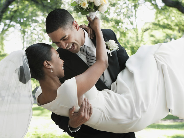 Blackity Black In Love: This Beautifully LITTY Wedding Entrance Will Make You Turn All The Way Up