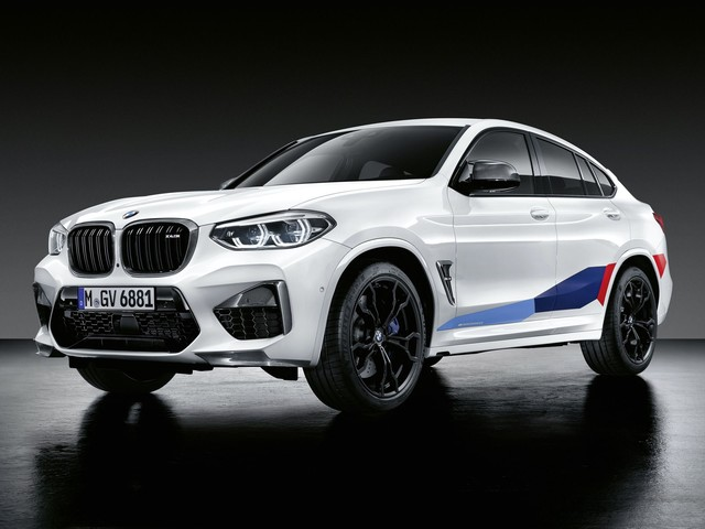 The new BMW X3 M and X4 M are getting some M Performance Parts