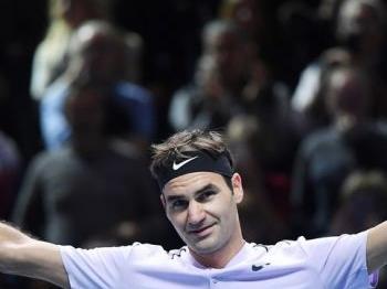 Federer verloor nog nooit van overgebleven opponenten