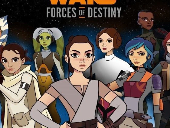 """STAR WARS FORCES OF DESTINY"" TELEVISION SPECIALS DEBUT OCTOBER 1st AND OCTOBER 29th ON DISNEY CHANNEL"