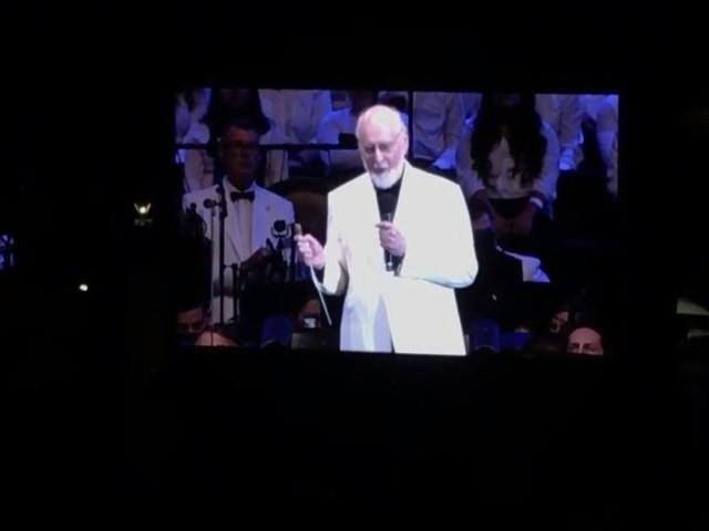 VIDEO: Watch 50 Mins Of John Williams Saturday's Hollywood Bowl Performance