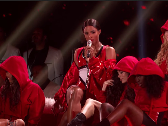 "Taraji's White Hot Holidays Special Preview: Ciara Performs ""Santa Baby"" & Faith Sings [Video]"