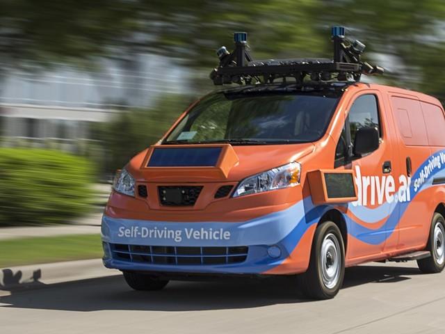 Apple neemt zelfrijdende auto-startup Drive.AI over