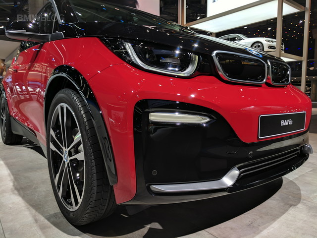 2017 Frankfurt Auto Show: First Live Photos Of The BMW i3s