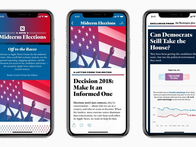 Hoe Apple de strijd met nepnieuws aangaat via Apple News