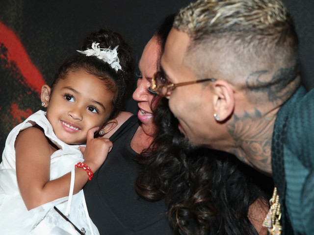 How Cute: Chris Brown's Baby Girl Launches Kiddie Clothing And Polish Line