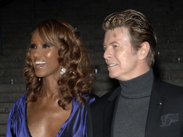 Swirly Seeds: IMAN Posts A Rarely-Seen Photo Of Her And David Bowie's 17-Year-Old Daughter