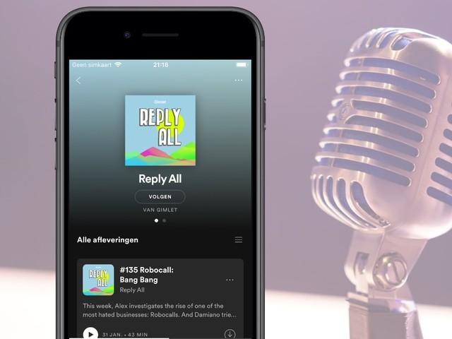 'Spotify komt met betaalde podcasts, vraagt geen commissie zoals Apple'