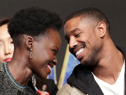 Wakanda Coupledom: People Think THIS Proves That Michael B Jordan & Lupita Nyong'o Are Beautifully Booed Up