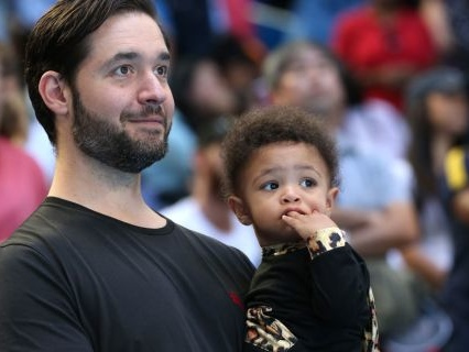 Olympian Lineage: Watch Serena Williams' Adorable Daughter Show These Tennis Rackets Who's BOSS
