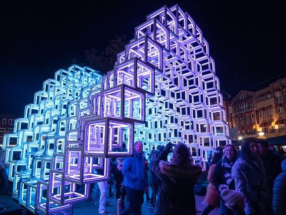 GLOW zit er weer op, 770.000 bezoekers vergaapten zich tijdens editie 2019 aan lichtkunstwerken